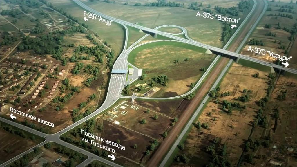 Трасса А-375 Восток обход Хабаровска