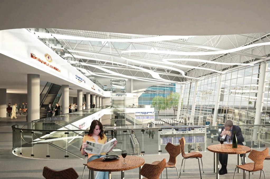 Проект аэровокзального комплекса аэропорта Хабаровск одобрен Главгосэкспертизой